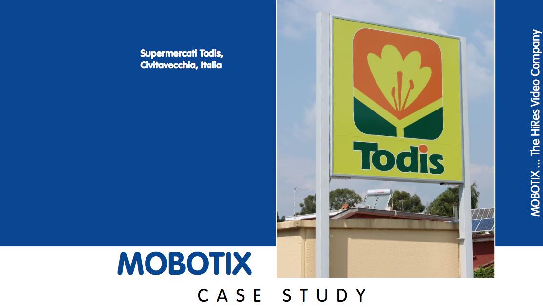 Case study con Mobotix per Todis